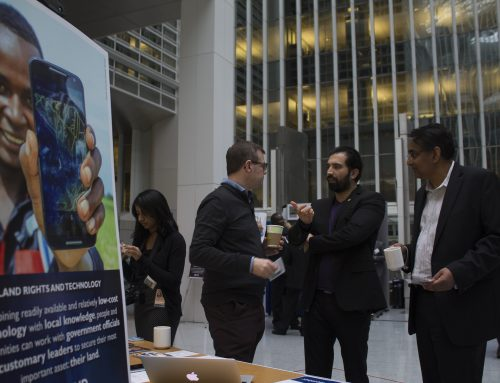 Research and Solutions from Cloudburst at the World Bank Conference on Land and Poverty
