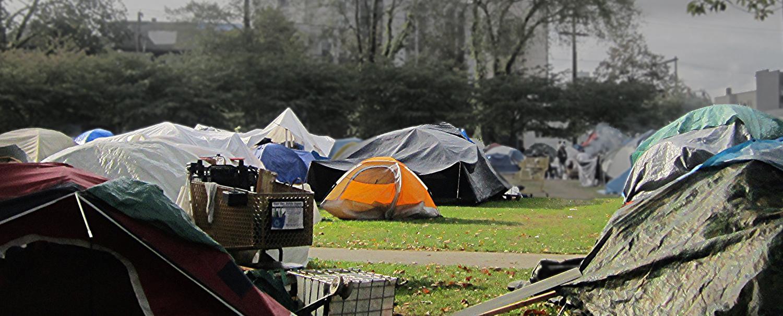Oppenheimer Park - Tent City
